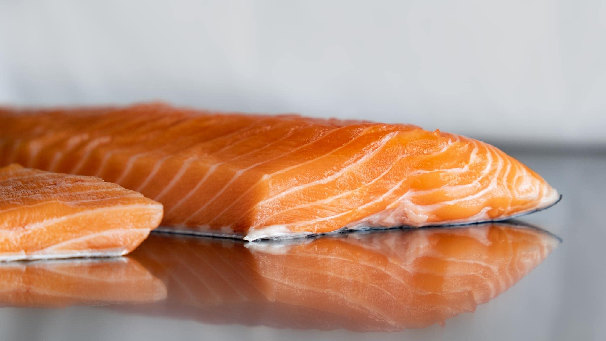 Baffa di salmone