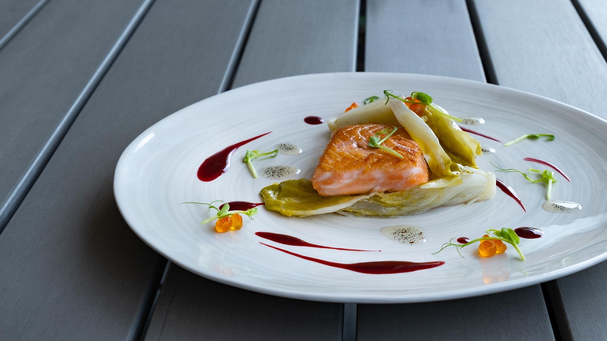 Cuocere il salmone sottovuoto: SALMONE&SCAROLA.0